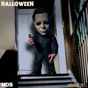 Action Figure di Michael Myers di Halloween, Serie MDS, Mezco - 15 cm