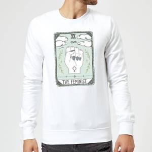 Barlena The Feminist Sweatshirt - White