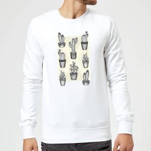 Barlena Prickly Friends Sweatshirt - White
