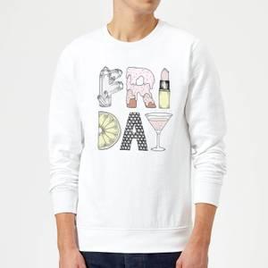 Barlena Friday Sweatshirt - White
