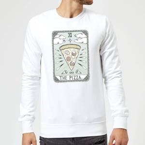 Barlena The Pizza Sweatshirt - White