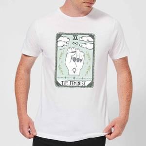 Barlena The Feminist Men's T-Shirt - White