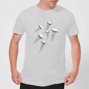 Barlena Jellyfish Men's T-Shirt - Grey