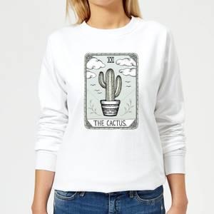 Barlena The Cactus Women's Sweatshirt - White