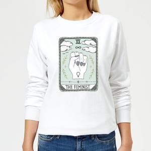 Barlena The Feminist Women's Sweatshirt - White