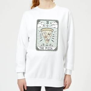 Barlena The Pizza Women's Sweatshirt - White