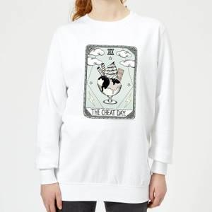 Barlena The Cheat Day Women's Sweatshirt - White