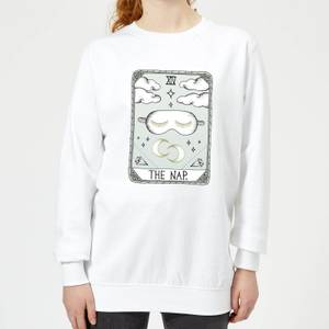 Barlena The Nap Women's Sweatshirt - White