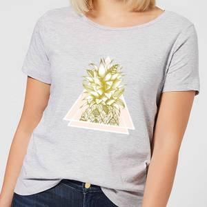 Barlena Pineapple Women's T-Shirt - Grey