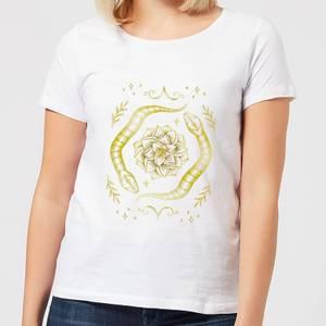 Barlena Snakes Women's T-Shirt - White