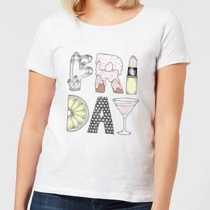 Barlena Friday Women's T-Shirt - White