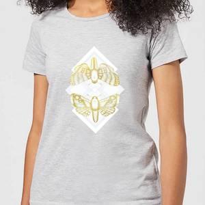 Barlena Moth Women's T-Shirt - Grey