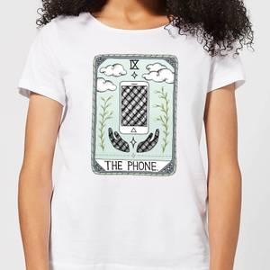 Barlena The Phone Women's T-Shirt - White
