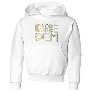 Barlena Carbe Diem Kids' Hoodie - White