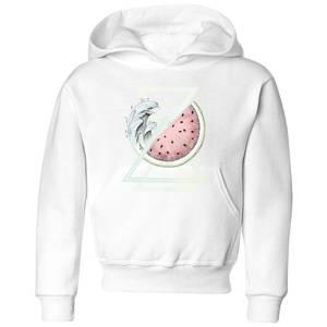 Barlena Fresh Kids' Hoodie - White