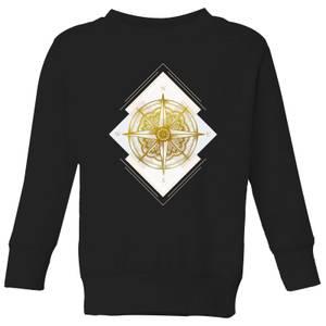 Barlena Compass Kids' Sweatshirt - Black