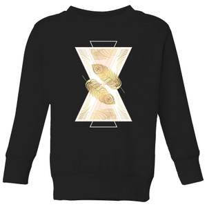 Barlena Feather Kids' Sweatshirt - Black