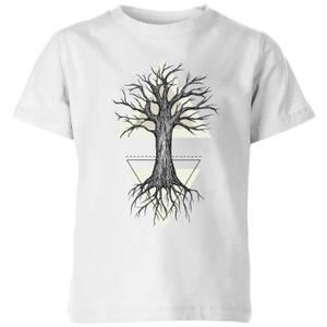 Barlena Fortitude Kids' T-Shirt - White