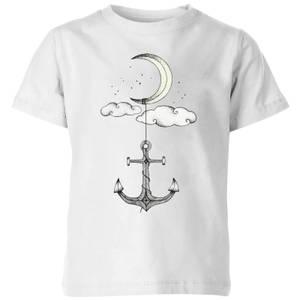 Barlena Anchor Your Dreams Kids' T-Shirt - White
