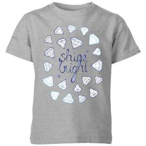 Barlena Shine Bright Kids' T-Shirt - Grey