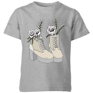 Barlena Fresh Start Kids' T-Shirt - Grey