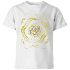 Barlena Snakes Kids' T-Shirt - White