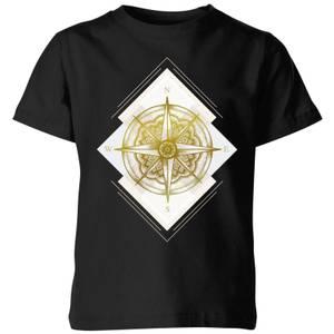Barlena Compass Kids' T-Shirt - Black