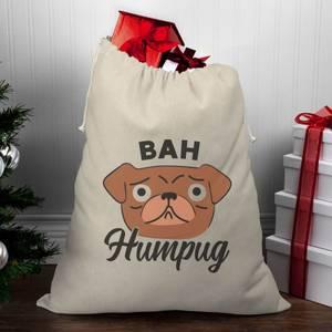 Bah Humpug Christmas Santa Sack