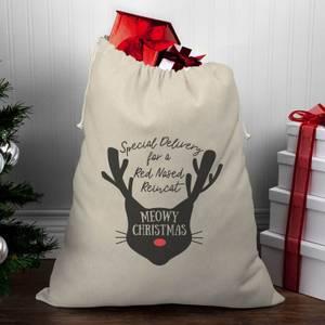 Meowy Christmas Christmas Santa Sack