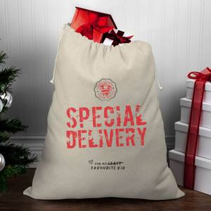 Special Delivery for My Favourite Child Christmas Santa Sack