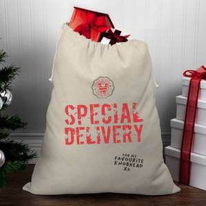 Special Delivery for My Favourite Knobhead Christmas Santa Sack