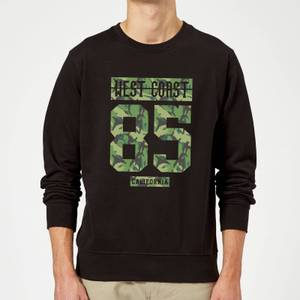 Camo West Coast Sweatshirt - Black