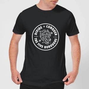 The Five Boroughs Men's T-Shirt - Black