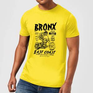 Bronx Motor Men's T-Shirt - Yellow