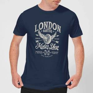 LDN Motor Shop Men's T-Shirt - Navy