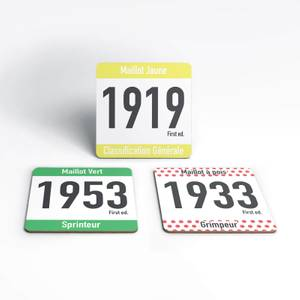 Tour De France Coaster Set