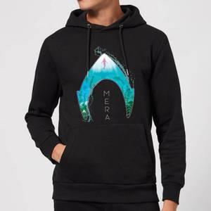 Aquaman Mera Logo Hoodie - Black
