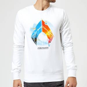 Aquaman Back To The Beach Sweatshirt - White