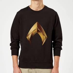 Aquaman Symbol trui - Zwart