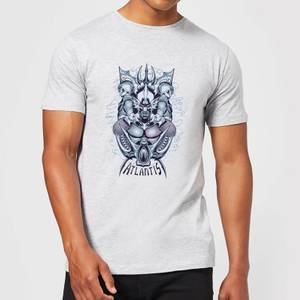 Aquaman Atlantis Seven Kingdoms Herren T-Shirt - Grau