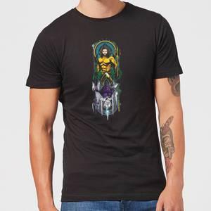 Aquaman and Ocean Master Men's T-Shirt - Black