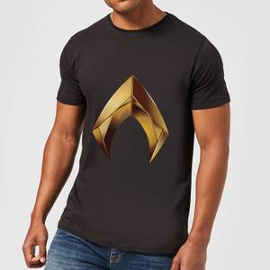 Aquaman Symbol t-shirt - Zwart