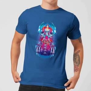 Aquaman Mera Hourglass Men's T-Shirt - Royal Blue