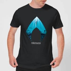 Aquaman Deep Men's T-Shirt - Black