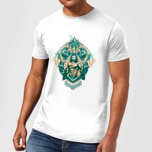 Aquaman Seven Kingdoms Men's T-Shirt - White