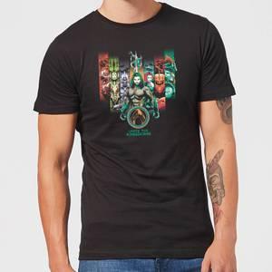 Aquaman Unite The Kingdoms t-shirt - Zwart