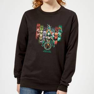 Aquaman Unite The Kingdoms Damen Sweatshirt - Schwarz