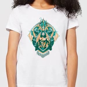 Aquaman Seven Kingdoms Women's T-Shirt - White