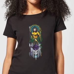 Aquaman and Ocean Master Women's T-Shirt - Black
