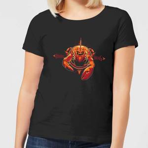 Aquaman Brine King Women's T-Shirt - Black